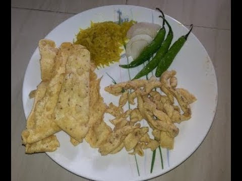 How to make Fafda gathiya | घर पर बनाये स्वादिष्ट फाफड़ा | Saurashtra na fafda gathiya | फाफड़ा