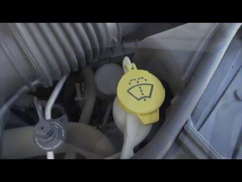Testing Bug wash remover Windshield Washer Fluid