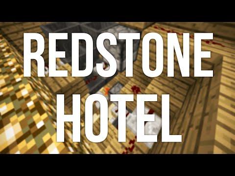 Redstone Hotel 2.0 in Minecraft - Building Livestream