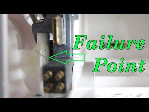 DJI Phantom 3 - Cracked Battery Terminal Mounting Post Repair