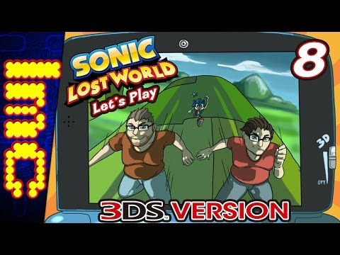 LMC Let's Play Sonic Lost World 3DS - Part 8: Super Sonic