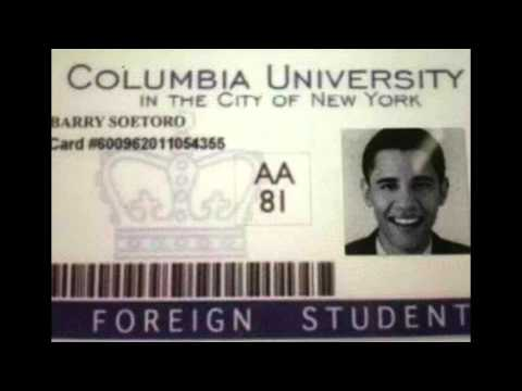 Obama's Foreign Student ID