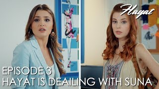 Hayat is deailing with Suna Pektas | Hayat Episode 3 (Hindi Dubbed)