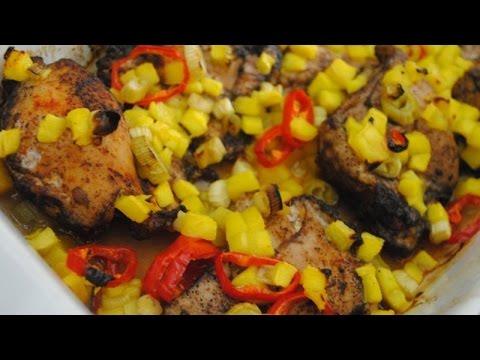 CARIBBEAN SUNSHINE CHICKEN - Student Recipe