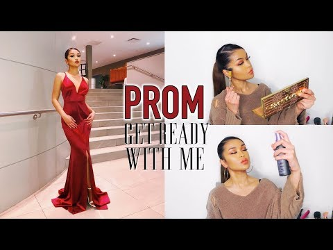 GET READY WITH ME: Prom Makeup + Dress Options ♡ Koleen Diaz