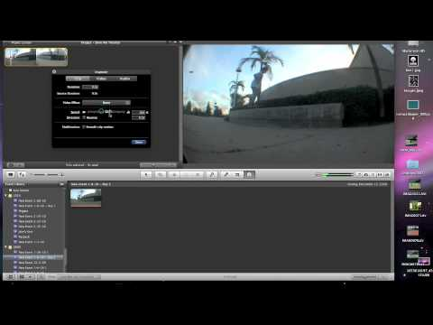 How to do slow motion in iMovie 09