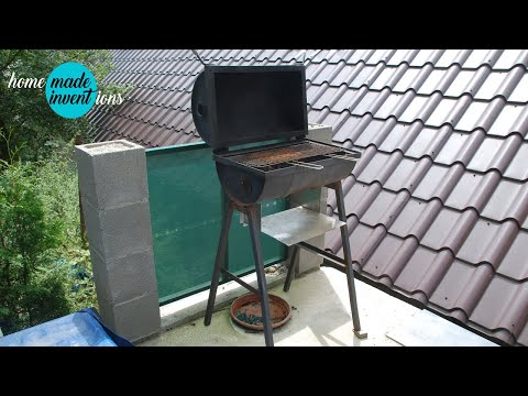 DIY How To Build an Oil Drum Barrel BBQ for 25  $ ~ Home Improvement by 2apples