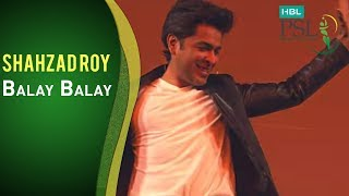 Shehzad Roy sings Ballay Ballay at the Opening Ceremony!