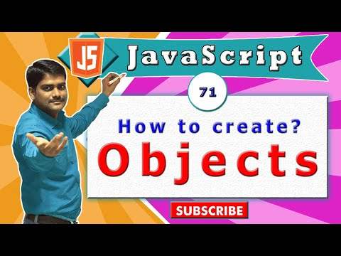 JavaScript tutorial 88 - Creating user defined objects in javascript