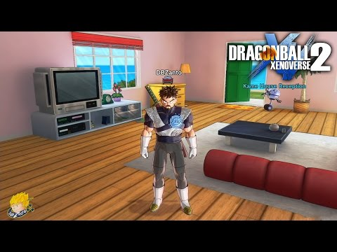 Dragon Ball XENOVERSE 2 - Free Roaming Conton City (FOUND MASTER ROSHI HOUSE)【60FPS 1080P】