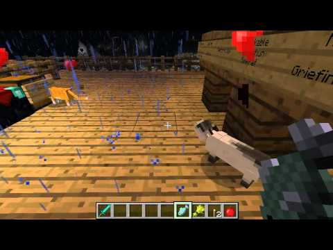 Minecraft Cute Kittens. Ship Cats / Ocelots Breeding aboard HMS Victory by Simkraf