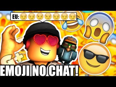 COMO USAR EMOJI NO CHAT DO ROBLOX! ( PC )