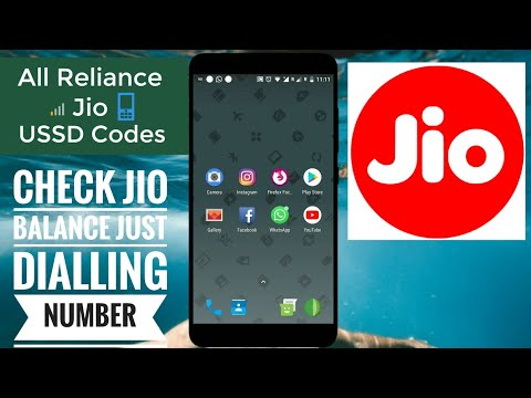 All Reliance Jio 4G USSD Codes To Instantly Check Balance,Data & SMS Check Jio balance Latest 2018