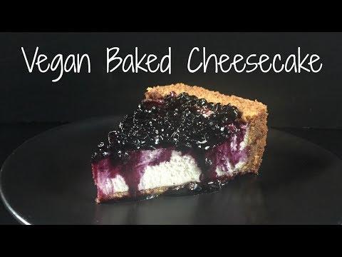Vegan Baked Cheesecake // Vegan // Breaking Chegan