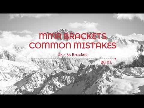 Dota 2 Common Mistakes in MMR Brackets PART 4: 2k - 3k Bracket