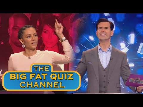 Mel B is in the Wrong Quiz Show   Big Fat Quiz Show of the Year 2014