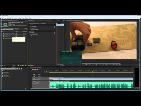Quick Tip: Remove background noise in Adobe Audition from Adobe Premiere Pro CS6/CC
