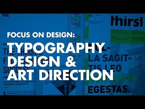 Graphic Design Tutorial: Typography Design & Art Direction