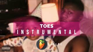 Dababy Toes Instrumental