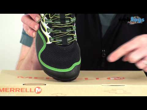 Merrell Men's Barefoot Running Trail Glove Shoes - Lightweight, natural, barefoot running shoes.