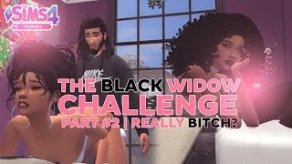 Download Let's Play The Sims 4 | The Black Widow Challenge | Episode 2 | REALLY B!@%#? Video