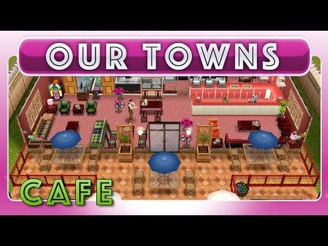 Sims FreePlay - Cafe and Coffee Shop (Original Design)