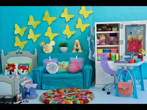American Girl Doll Bedroom ~ Disney Dog With A Blog Avery