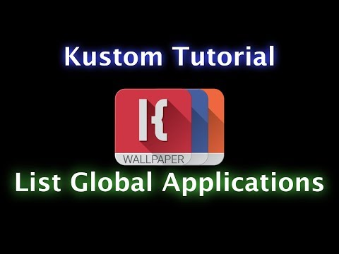 KLWK KLCK KWGT Tutorial - Many Applications of the List Global