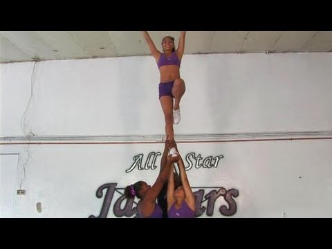 How To Perform An Extension Stunt In Cheerleading