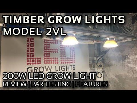 Timber Grow Lights Model 2VL Vero29 V7 COB Review