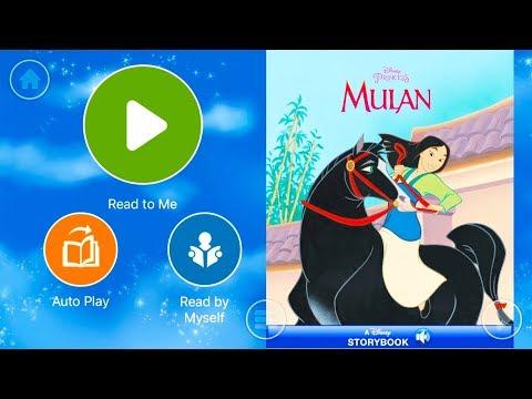 Walt Disney Pictures Presents Mulan - Audio Read Aloud Bedtime Storybook for Kids