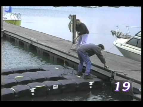 Floating PWC Docks: Mooring to a Floating Dock