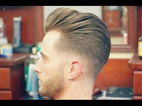 How to Do an Undercut with a Slicked back Pompadour
