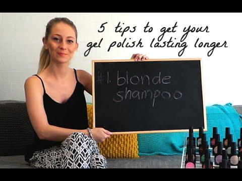 5 tips to make your gel polish manicure last longer