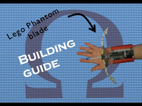 Lego Phantom Blade - building instructions/guide
