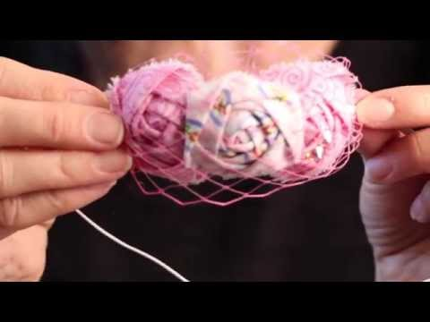 DIY Baby Headband - Vintage Roses & Birdcage Veil