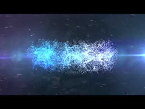 Text to Dust/Smoke Trapcode Particular Intro