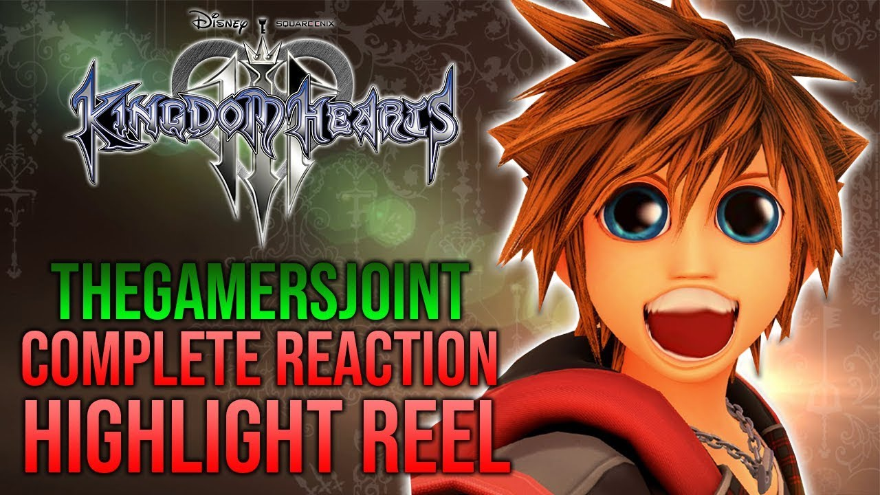 Kingdom Hearts 3 - Complete Reaction Compilation - TheGamersJoint