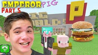 PigDonalds DRIVE THRU in Emperor Pig Minecraft on HobbyGaming