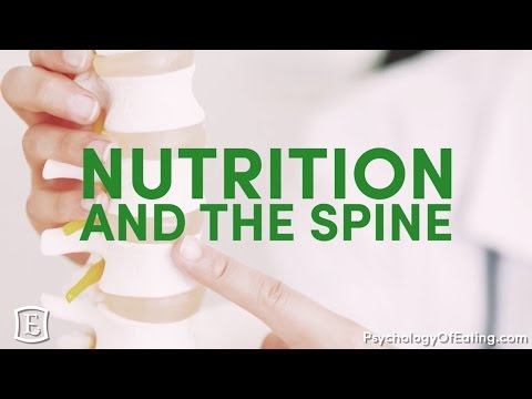 Nutrition And The Spine: What's The Connection? - with Marc David