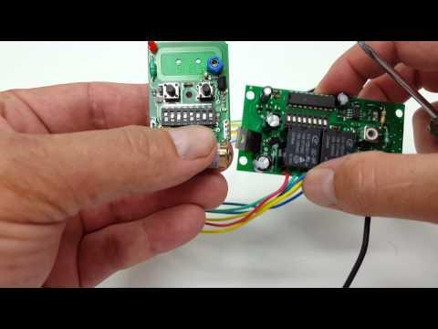 Programming your ALEKO gate remote