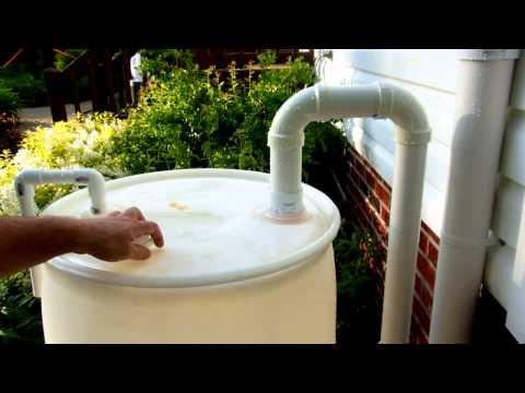 How to Build a Rain Barrel (v2) -- An Elegant Solution?