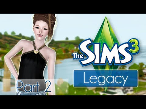 Let's Play the Sims 3 Han Legacy Challenge! Part 2: Gardening
