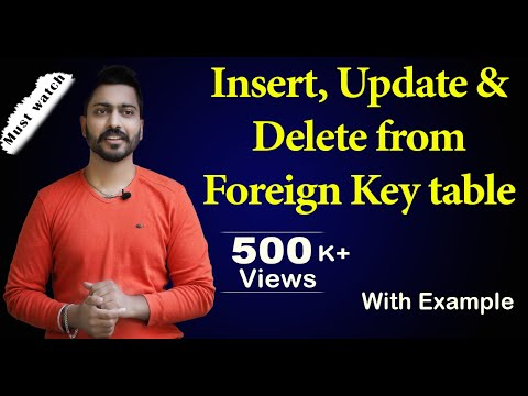 Foreign Key(Part -2)| Database Management System