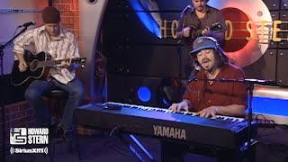 """Counting Crows """"A Long December"""" on the Howard Stern Show (2002)"""