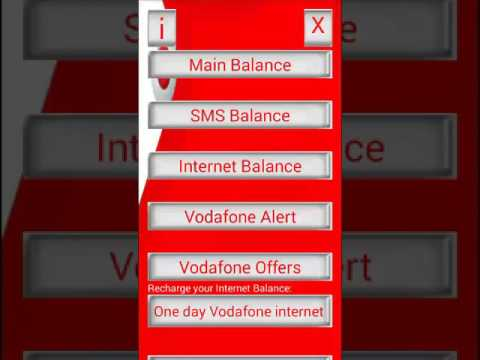 Vodafone USSD Codes