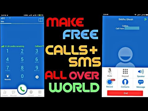 Make Free Unlimited Call+SMS Worldwide  on Mobile & Landline Numbers by Tech Warriors