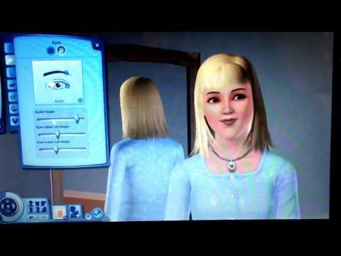 Quick cute face SIMS3