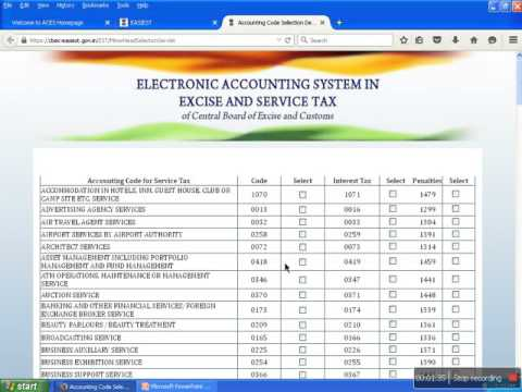 how to pay service tax online with swatch bharat cess sbc
