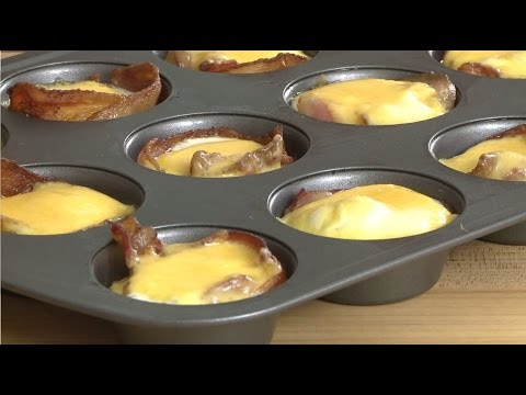 Ham and Cheese Egg Cups | Breakfast Recipes | Allrecipes.com